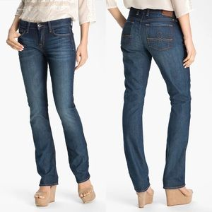 Lucky Brand Sofia Straight Whiskered Stretch 25